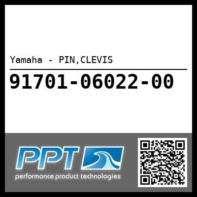 Yamaha - PIN,CLEVIS