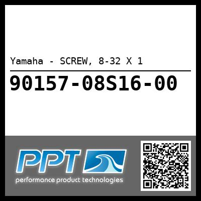 Yamaha - SCREW, 8-32 X 1