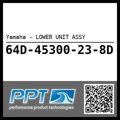 Yamaha - LOWER UNIT ASSY