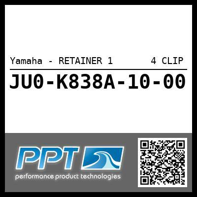 Yamaha - RETAINER 1       4 CLIP