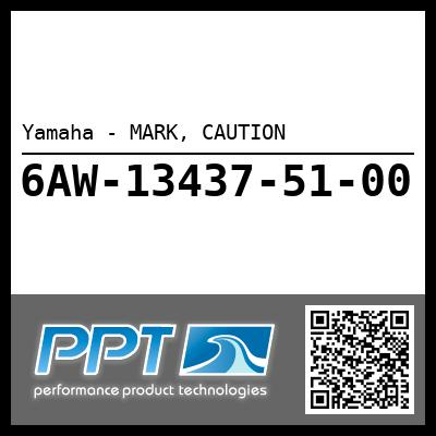 Yamaha - MARK, CAUTION