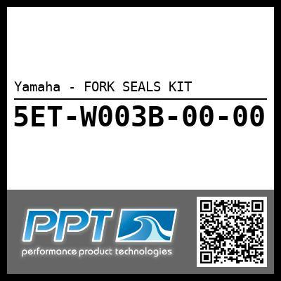 Yamaha - FORK SEALS KIT