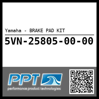 Yamaha - BRAKE PAD KIT
