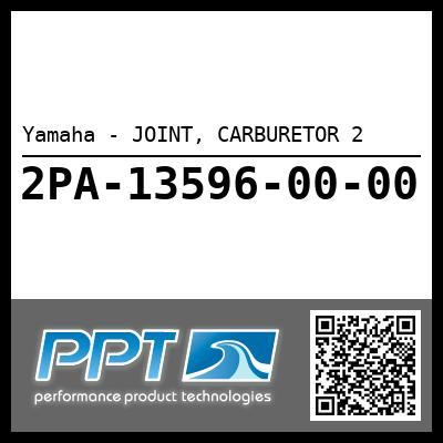 Yamaha - JOINT, CARBURETOR 2