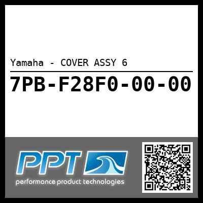 Yamaha - COVER ASSY 6