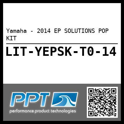 Yamaha - 2014 EP SOLUTIONS POP KIT