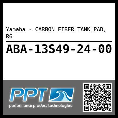 Yamaha - CARBON FIBER TANK PAD, R6