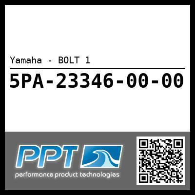 Yamaha - BOLT 1