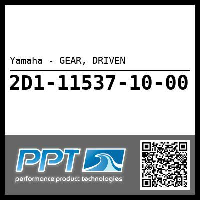 Yamaha - GEAR, DRIVEN