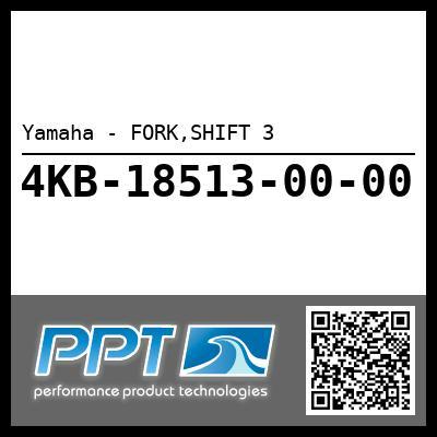Yamaha - FORK,SHIFT 3