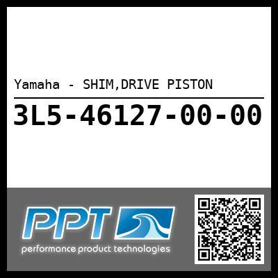 Yamaha - SHIM,DRIVE PISTON