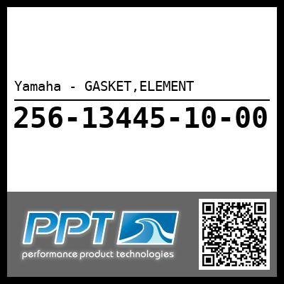 Yamaha - GASKET,ELEMENT