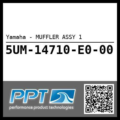 Yamaha - MUFFLER ASSY 1