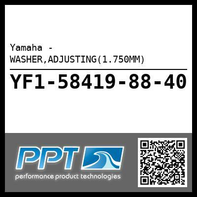 Yamaha - WASHER,ADJUSTING(1.750MM)