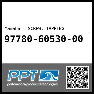 Yamaha - SCREW, TAPPING