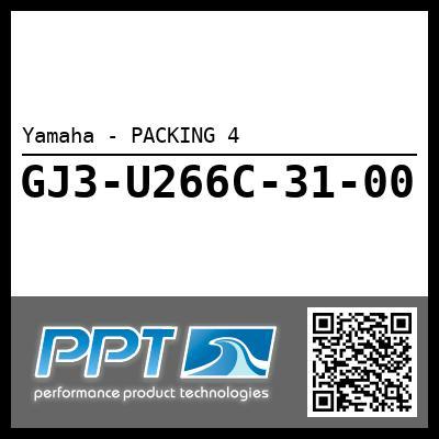 Yamaha - PACKING 4