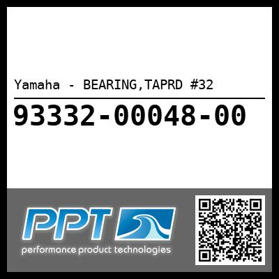 Yamaha - BEARING,TAPRD #32