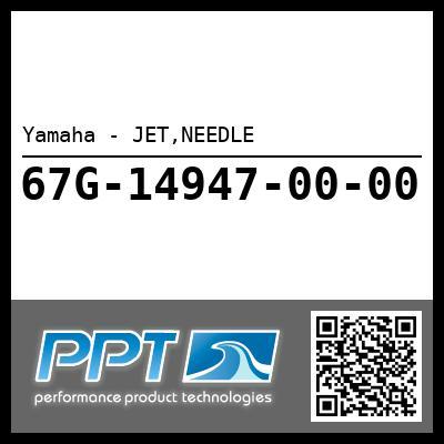 Yamaha - JET,NEEDLE