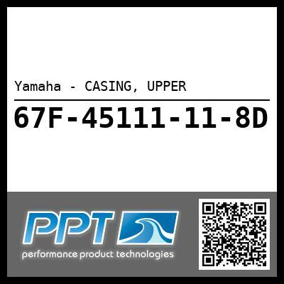 Yamaha - CASING, UPPER