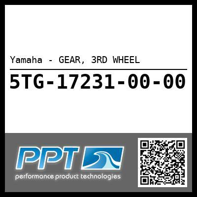 Yamaha - GEAR, 3RD WHEEL