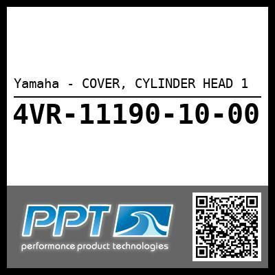 Yamaha - COVER, CYLINDER HEAD 1