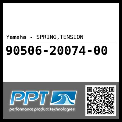 Yamaha - SPRING,TENSION