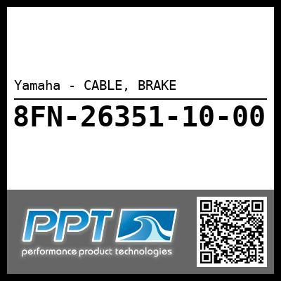 Yamaha - CABLE, BRAKE