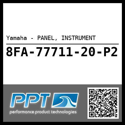 Yamaha - PANEL, INSTRUMENT