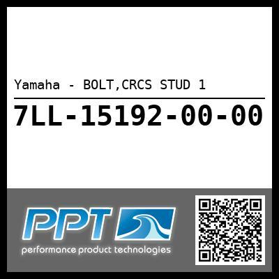 Yamaha - BOLT,CRCS STUD 1