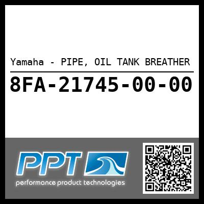Yamaha - PIPE, OIL TANK BREATHER