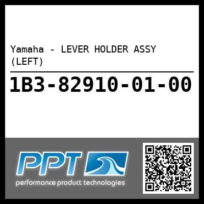 Yamaha - LEVER HOLDER ASSY (LEFT)