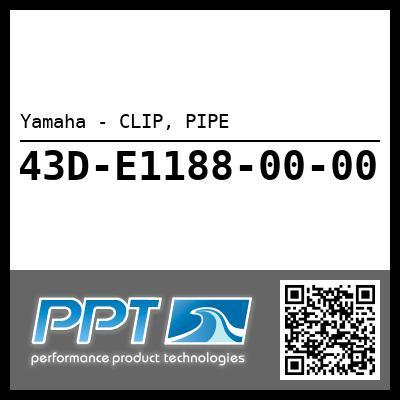 Yamaha - CLIP, PIPE