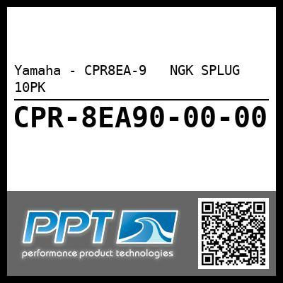 Yamaha - CPR8EA-9   NGK SPLUG  10PK