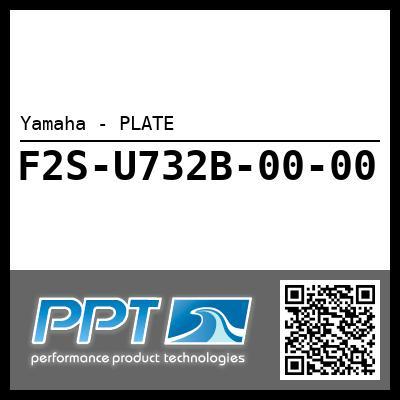 Yamaha - PLATE