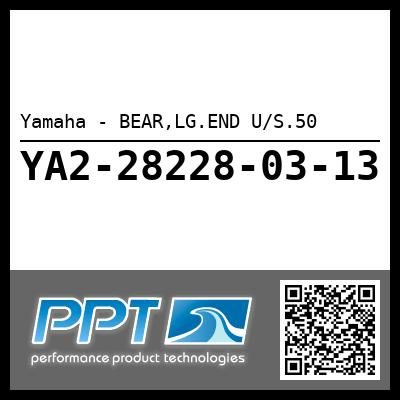 Yamaha - BEAR,LG.END U/S.50