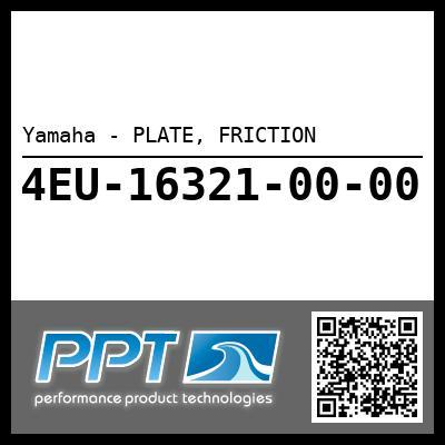 Yamaha - PLATE, FRICTION