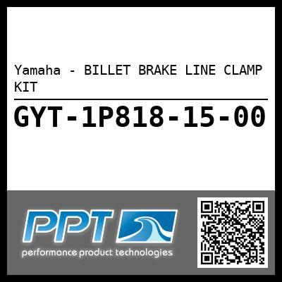Yamaha - BILLET BRAKE LINE CLAMP KIT