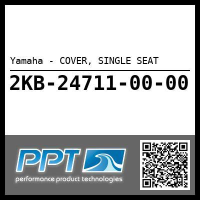 Yamaha - COVER, SINGLE SEAT
