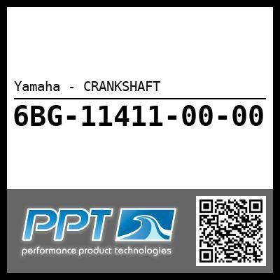 Yamaha - CRANKSHAFT