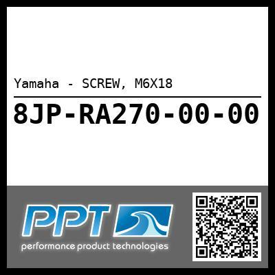 Yamaha - SCREW, M6X18