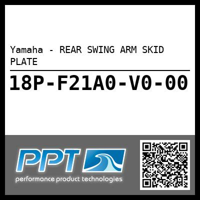 Yamaha - REAR SWING ARM SKID PLATE