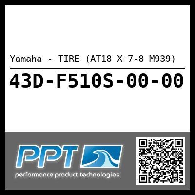 Yamaha - TIRE (AT18 X 7-8 M939)