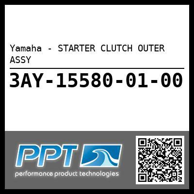 Yamaha - STARTER CLUTCH OUTER ASSY