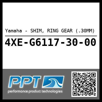 Yamaha - SHIM, RING GEAR (.30MM)