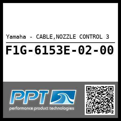 Yamaha - CABLE,NOZZLE CONTROL 3