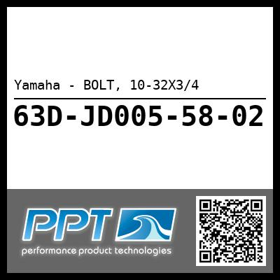Yamaha - BOLT, 10-32X3/4