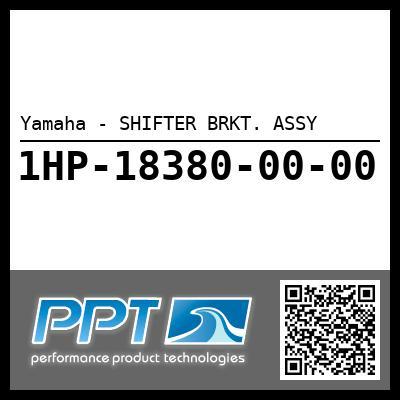 Yamaha - SHIFTER BRKT. ASSY