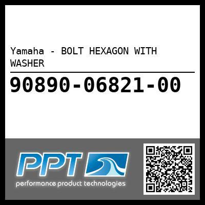 Yamaha - BOLT HEXAGON WITH WASHER