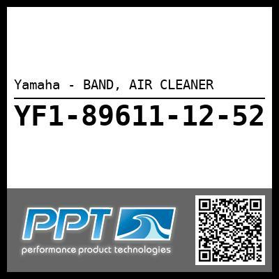 Yamaha - BAND, AIR CLEANER