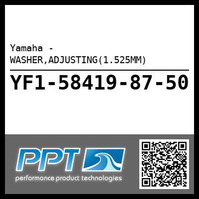 Yamaha - WASHER,ADJUSTING(1.525MM)